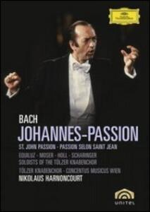 Johann Sebastian Bach. Johannes-Passion. Passione secondo Giovanni - DVD