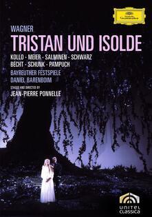 Richard Wagner. Tristano e Isotta (2 DVD) - DVD di Richard Wagner,René Kollo,Hanna Schwarz,Matti Salminen,Hermann Becht,Daniel Barenboim