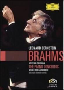 Johannes Brahms. Piano Concertos nos. 1 & 2 di Humphrey Burton - DVD