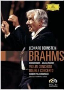 Johannes Brahms. Violin Concerto, Double Concerto - DVD