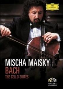 Film Johann Sebastian Bach. Mischa Maisky. Cello Suites