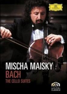 Johann Sebastian Bach. Mischa Maisky. Cello Suites (2 DVD) - DVD