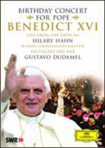 Concerto per l'80° compleanno di Papa Benedetto XVI - DVD