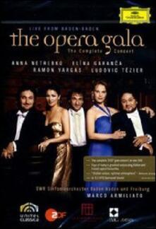 The Opera Gala. Live from Baden-Baden (DVD) - DVD di Anna Netrebko,Elina Garanca