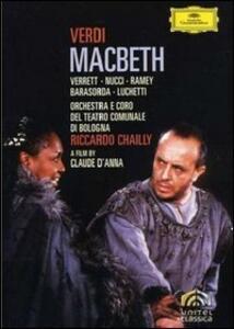 Giuseppe Verdi. Macbeth (2 DVD) di Claude D'Anna - DVD