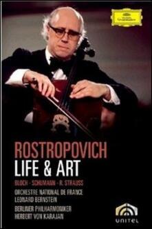 Mstislav Rostropovich. Life & Art - DVD