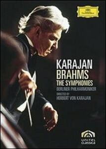 Johannes Brahms. The Symphonies. Herbert von Karajan (2 DVD) - DVD