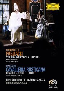Leoncavallo, Pagliacci - Mascagni, Cavalleria Rusticana (2 DVD)