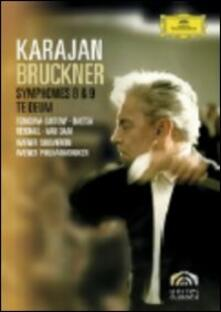 Herbert Von Karajan. Bruckner. Symphonies 8 & 9 (2 DVD) - DVD