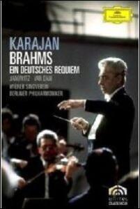Johannes Brahms. Ein Deutsches Requiem di Herbert Von Karajan - DVD