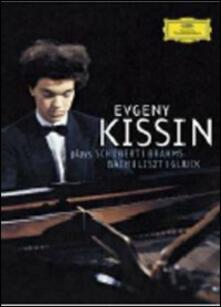 Yevgeny Kissin Plays Schubert, Brahms, Bach, Liszt, Gluck - DVD