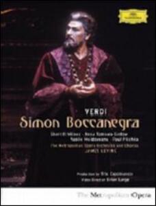 Giuseppe Verdi. Simon Boccanegra di Brian Large - DVD