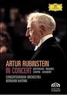 Artur Rubinstein. In Concert. Amsterdam 1973 - DVD di Bernard Haitink,Arthur Rubinstein