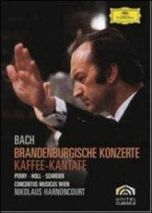 Film Johann Sebastian Bach. Concerti brandeburghesi. Brandenburgische konzerte