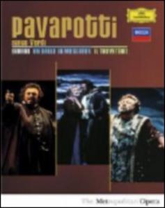 Film Luciano Pavarotti. Pavarotti Sings Verdi