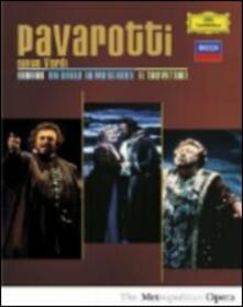 Luciano Pavarotti. Pavarotti Sings Verdi (3 DVD) - DVD