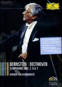 Leonard Bernstein. Beethoven: Symphonies 2, 6 & 7 - DVD