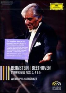 Film Leonard Bernstein. Beethoven: Symphonies 3, 4 & 5
