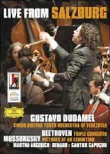 Gustavo Dudamel. Live from Salzburg - DVD
