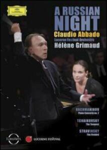 Claudio Abbado. A Russian Night - DVD