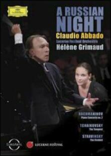 Claudio Abbado. A Russian Night - DVD