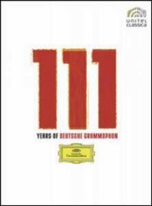 111 Years of Deutsche Grammophon (11 DVD) di Truck Branss,Humphrey Burton,Henri-Georges Clouzot,Karlheinz Hundorf,Brian Large