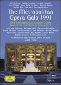 Film Metropolitan Opera Gala 1991. 25th Anniversary at Lincoln Center Brian Large