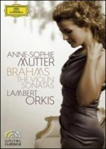 Anne-Sophie Mutter. Brahms. The Violin Sonatas Nos. 1-3 - DVD