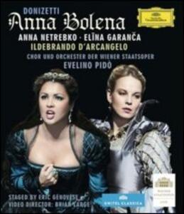 Gaetano Donizetti. Anna Bolena di Eric Genovese - Blu-ray