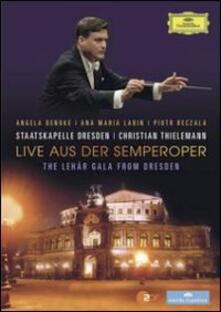 Live Aus Der Semperoper. The Lehár Gala From Dresden - DVD