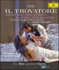 Giuseppe Verdi. Il Trovatore di David McVicar - Blu-ray