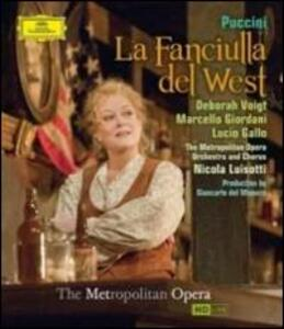 Giacomo Puccini. La Fanciulla del West - Blu-ray