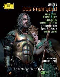 Richard Wagner. Das Rheingold. L'oro del Reno - Blu-ray