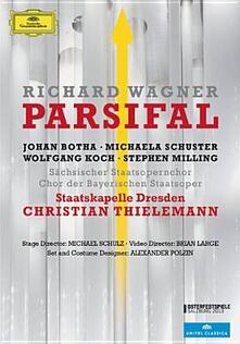 Richard Wagner. Parsifal (2 DVD) di Brian Large - DVD