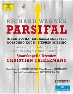 Richard Wagner. Parsifal di Brian Large - Blu-ray