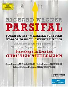 Richard Wagner. Parsifal di Brian Large - Blu-ray