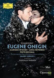 Pyotr Ilyich Tchaikovsky. Eugene Onegin (2 DVD) - DVD di Pyotr Ilyich Tchaikovsky