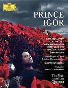Alexandre Borodin. Prince Igor di Dmitri Tcherniakov - Blu-ray