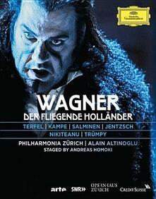 Richard Wagner. Der Fliegende Holländer. L'Olandese Volante - Blu-ray