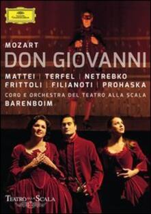 Wolfgang Amadeus Mozart. Don Giovanni di Robert Carsen - Blu-ray