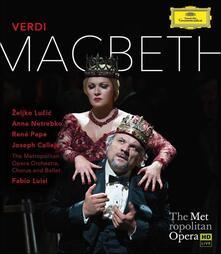 Giuseppe Verdi. Macbeth - Blu-ray