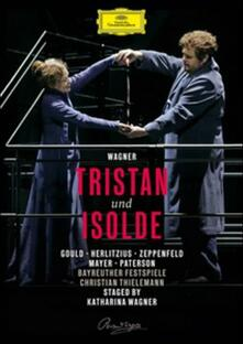 Richard Wagner. Tristano e Isotta. Tristan und Isolde di Katharina Wagner - Blu-ray