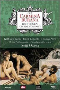 Carl Orff. Carmina Burana - Beethoven. Symphony No. 9 - DVD
