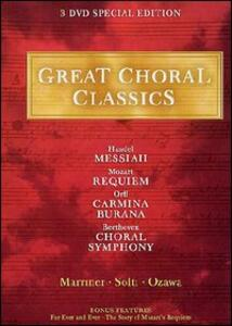 Great Choral Classics (3 DVD) - DVD