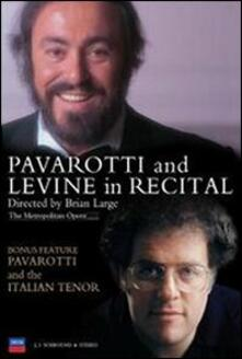 Luciano Pavarotti & James Levine in Recital di Brian Large - DVD