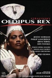 Igor Stravinsky. Oedipus Rex - DVD di Igor Stravinsky,Bryn Terfel,Jessye Norman,Philip Langridge,Seiji Ozawa