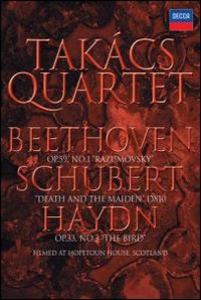 Film Takács Quartet. Beethoven, Schubert, Haydn