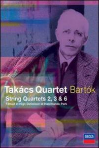 Film Takács Quartet. Bartok