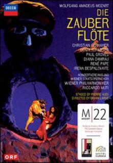 Wolfgang Amadeus Mozart. Il flauto magico. Die Zauberflote (2 DVD) - DVD di Wolfgang Amadeus Mozart,Riccardo Muti,Wiener Philharmoniker