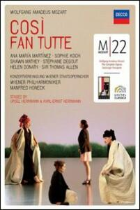 Wolfgang Amadeus Mozart. Così fan tutte (2 DVD) - DVD